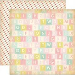 "Alphabet Soup ""Baby Mine Girl"""