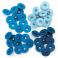 Eyelets Standard Azules Grandes - We R Memory Keepers