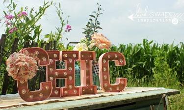 Ya están aquí las letras de cartón de Heidi Sewap, las letras más Chic!!!!