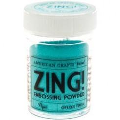 Aqua Metalico - Polvos Zing! de American Crafts
