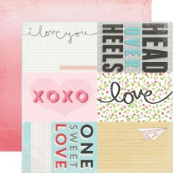 "Journaling Cards ""Head Over Heels"""