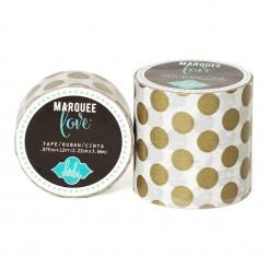 """Washi tape glitter lunares dorados Marquee Love 2"""""""
