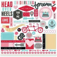 """Stickers """"Head Over Heels"""""""