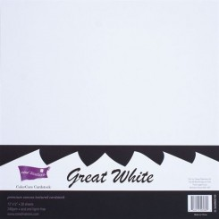 Pack Cardstock White-Core'dinations