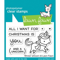 Winter Unicorn - Lawn Faw