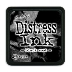 Distress MIni Black Soot