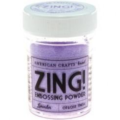 Lavanda Opaco - Polvos Zing! de American Crafts
