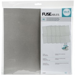 "Fuse hojas transparentes 12""x12""-We R Memory Keepers"