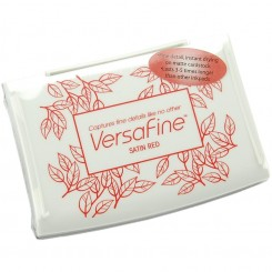 Tinta Versafine Satin Red de Tsukineko