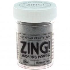 Plata - Polvos Zing Metalicos de American Crafts